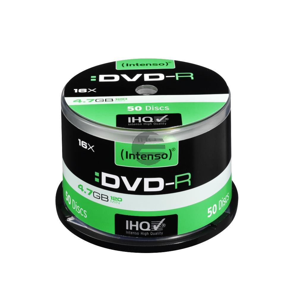 INTENSO DVD-R 4.7GB 16x (50) CB 4101155 Cake Box