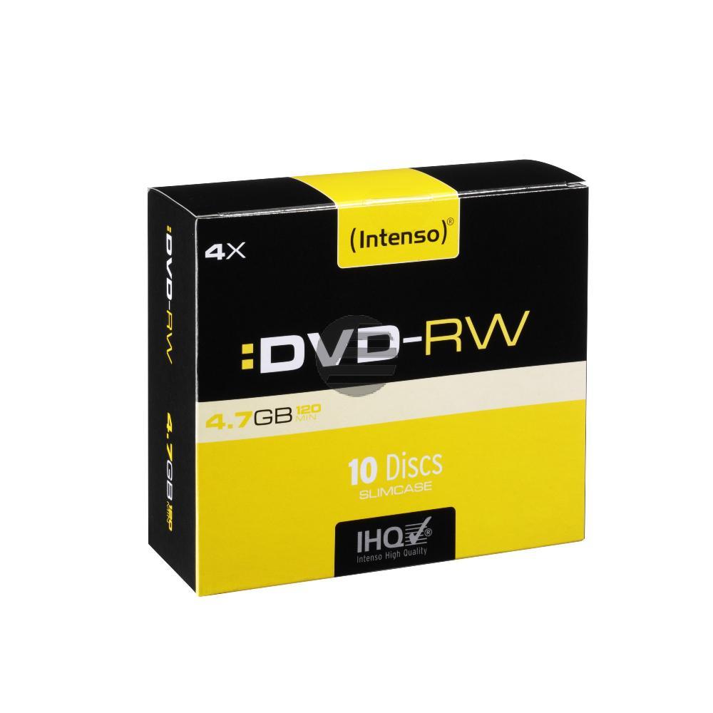 INTENSO DVD-RW 4.7GB 4x (10) SC 4201632 Slim Case wiederbeschreibbar