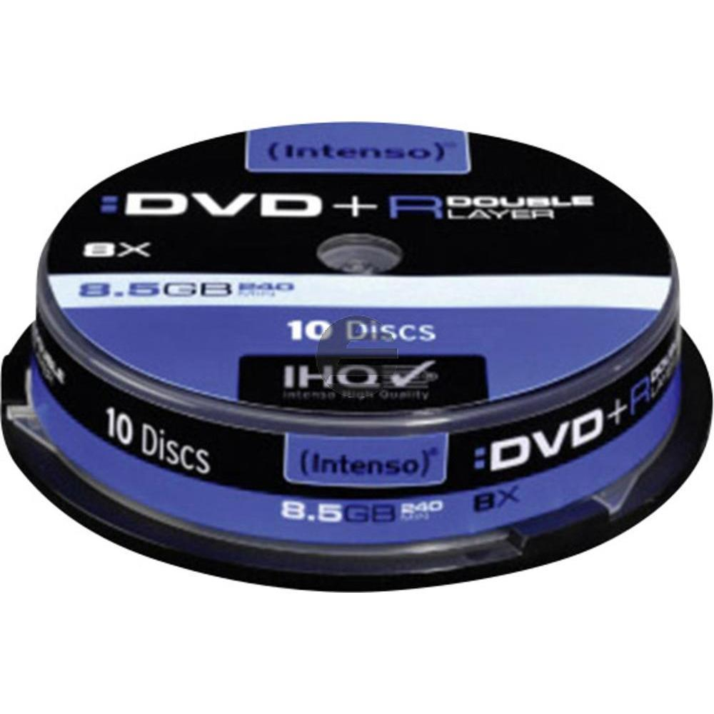 INTENSO DVD+R 8.5 GB 8x (10) CB 4311142 Cake Box Double Layer