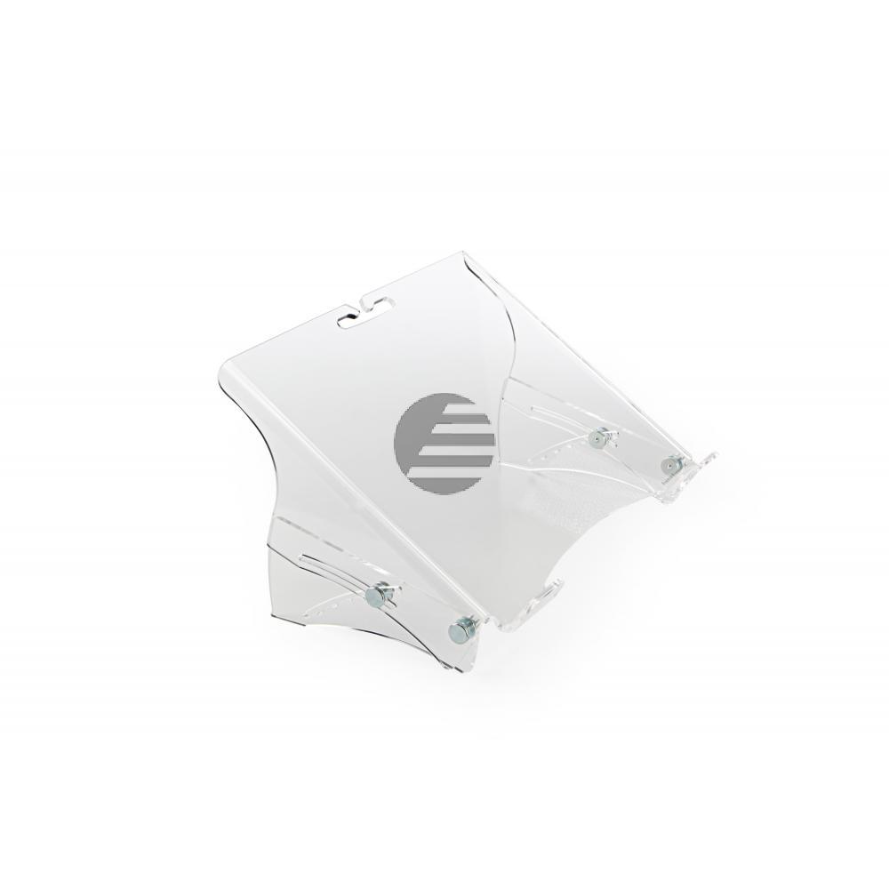 BNEQNOTE350 BAKKER NOTEBBOOKSTAENDER QNote 350 lichtgrau Kunststoff