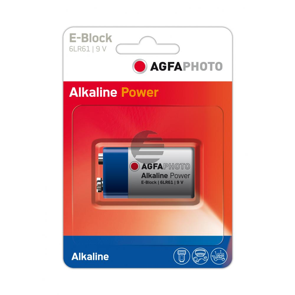 110-802596 AP EBLOCK BATTERIE 6LR61 High Quality Alkaline 9V