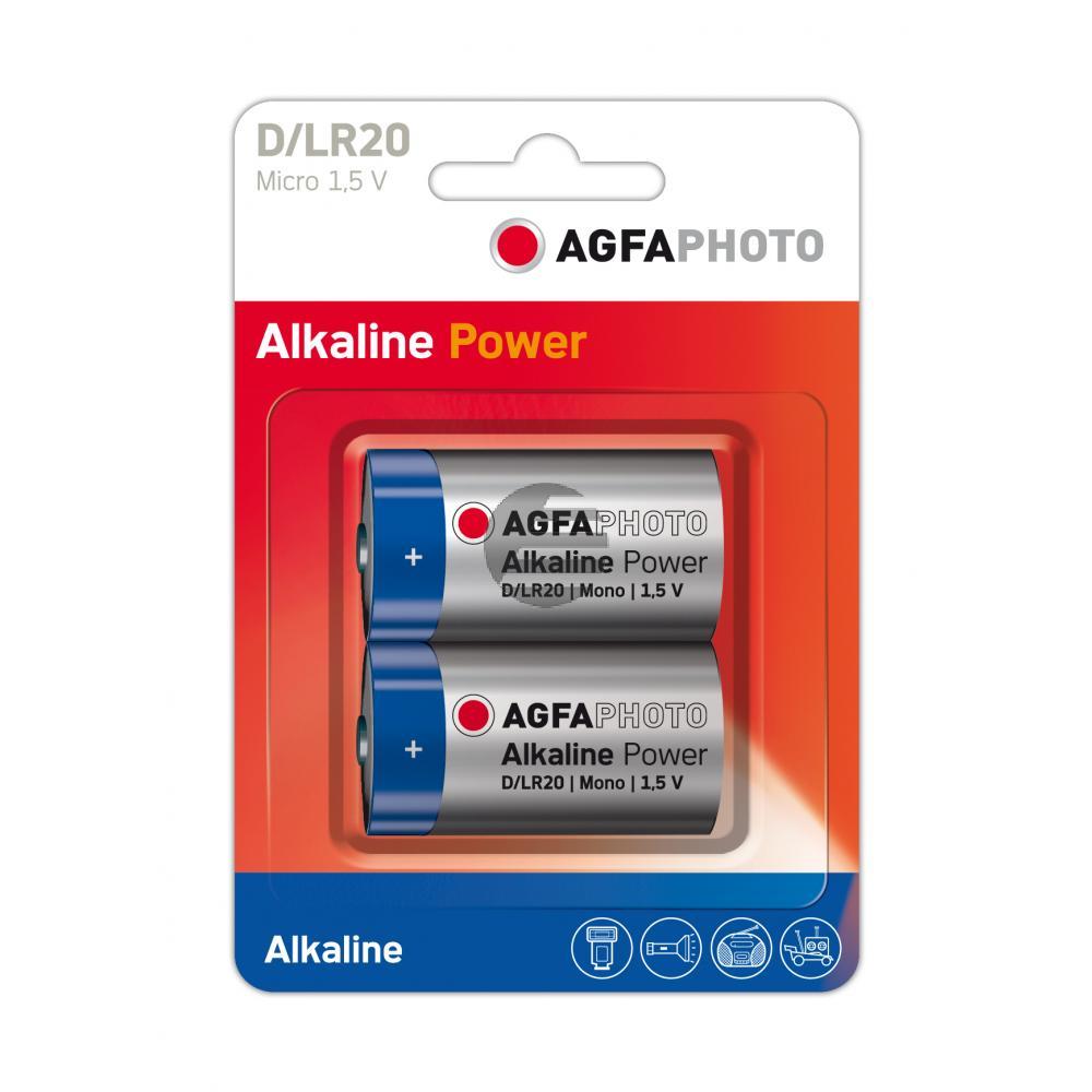 110-802619 AP MONO D BATTERIEN (2) LR20 High Quality Alkaline