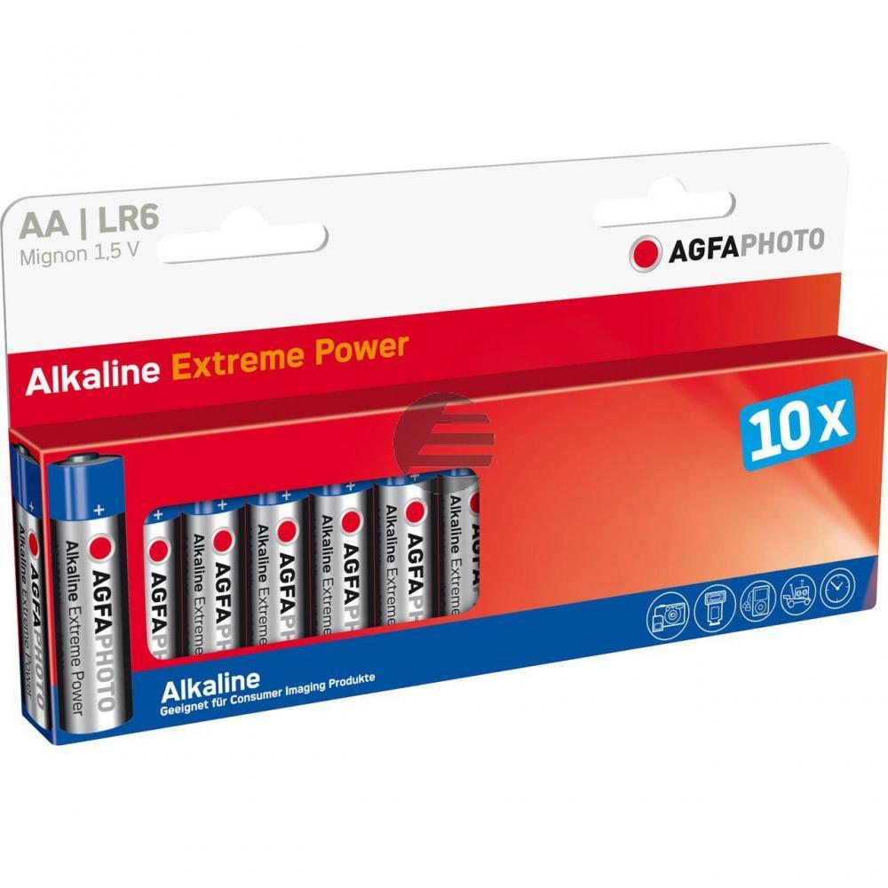 110-803951 AP MIGNON BATTERIEN (10) LR6 HighQuality Alkaline AA