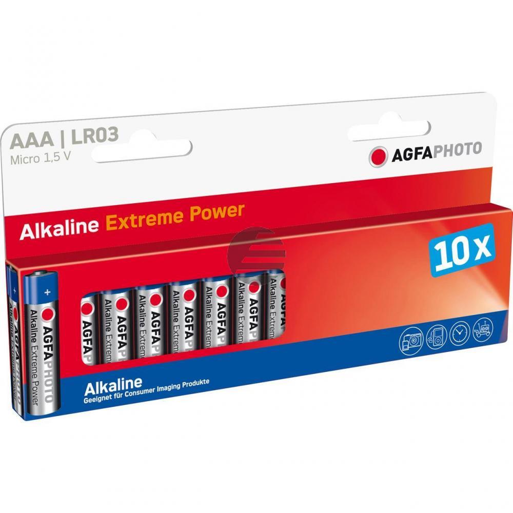 110-803968 AP MICRO BATTERIEN (10) L03 HighQuality Alkaline AAA