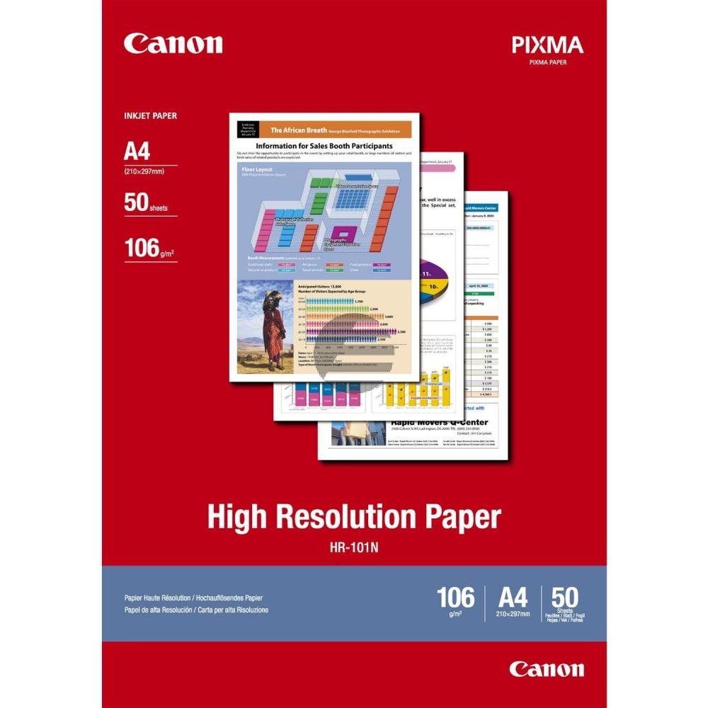 Canon Normalpapier weiß 50 Blatt DIN A4 106 g/m² (1033A002)