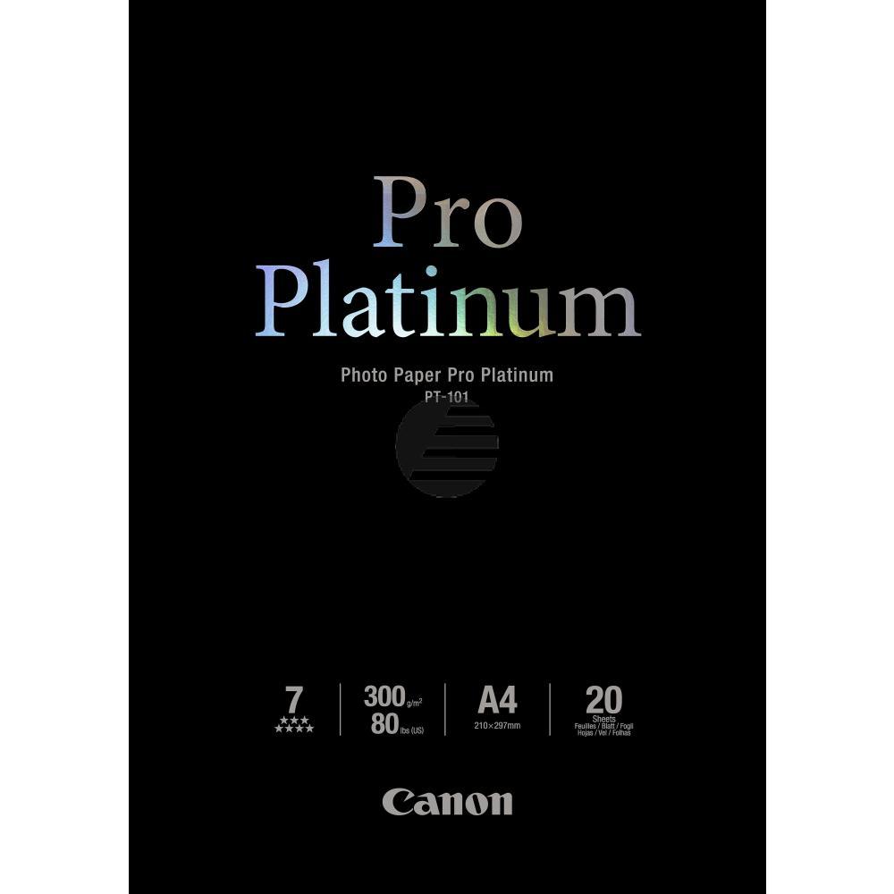 Canon Fotopapier 20 Blatt DIN A4 300 g/m² (2768B016)