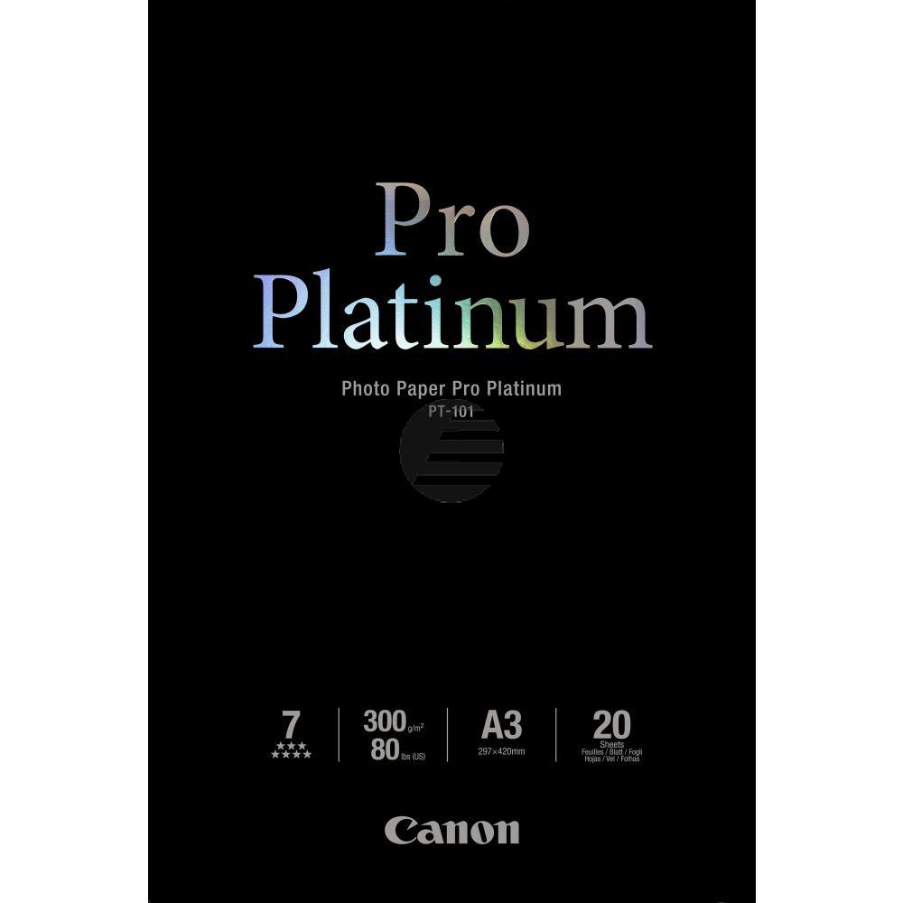 Canon Fotopapier 20 Blatt DIN A3 300 g/m² (2768B017)
