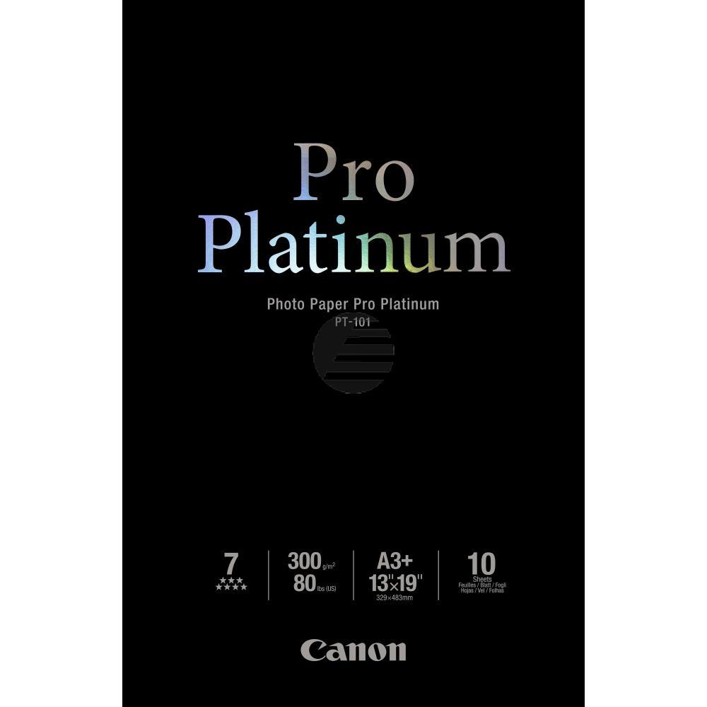 Canon Fotopapier 10 Blatt DIN A3+ 300 g/m² (2768B018)