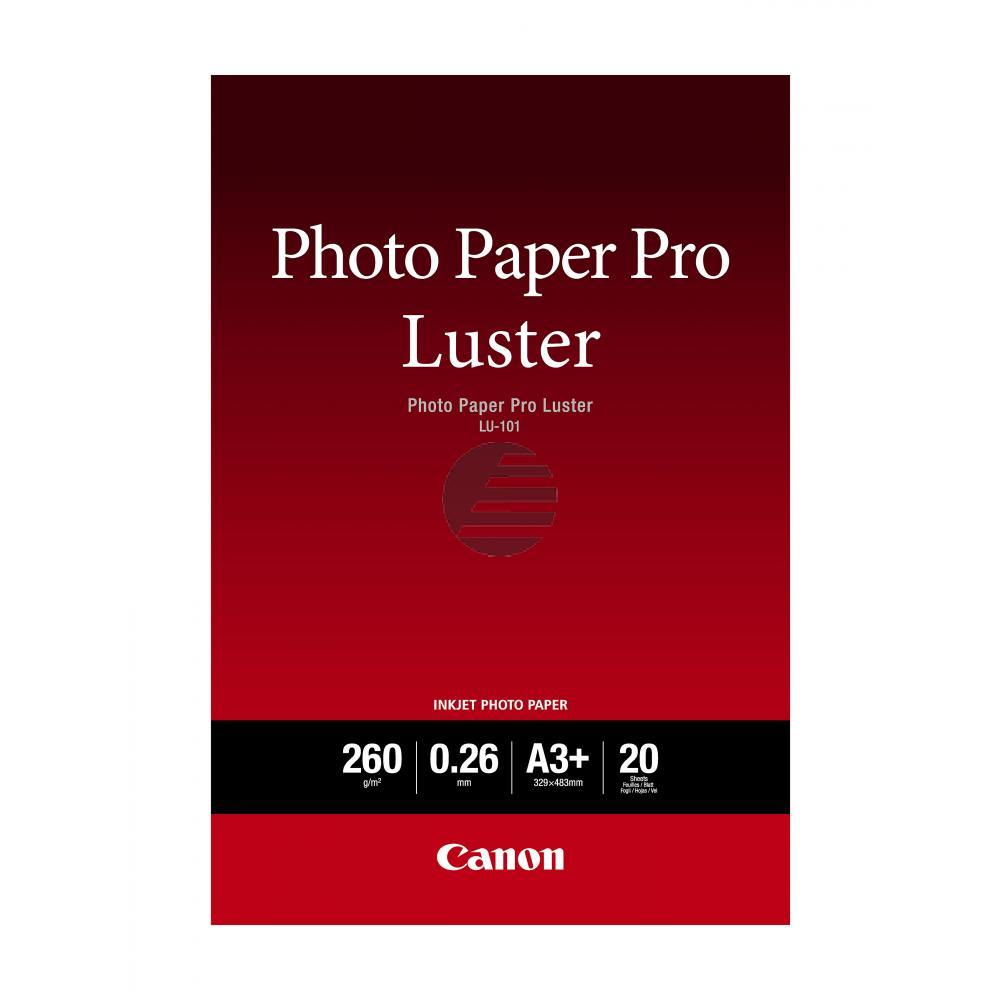Canon Fotopapier 20 Blatt DIN A3+ 260 g/m² (6211B008)