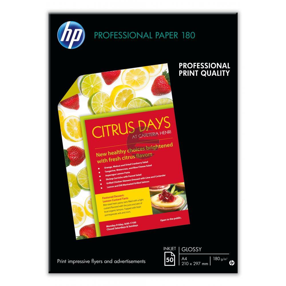 HP weiß 50 Blatt 180 g/m² (C6821A)