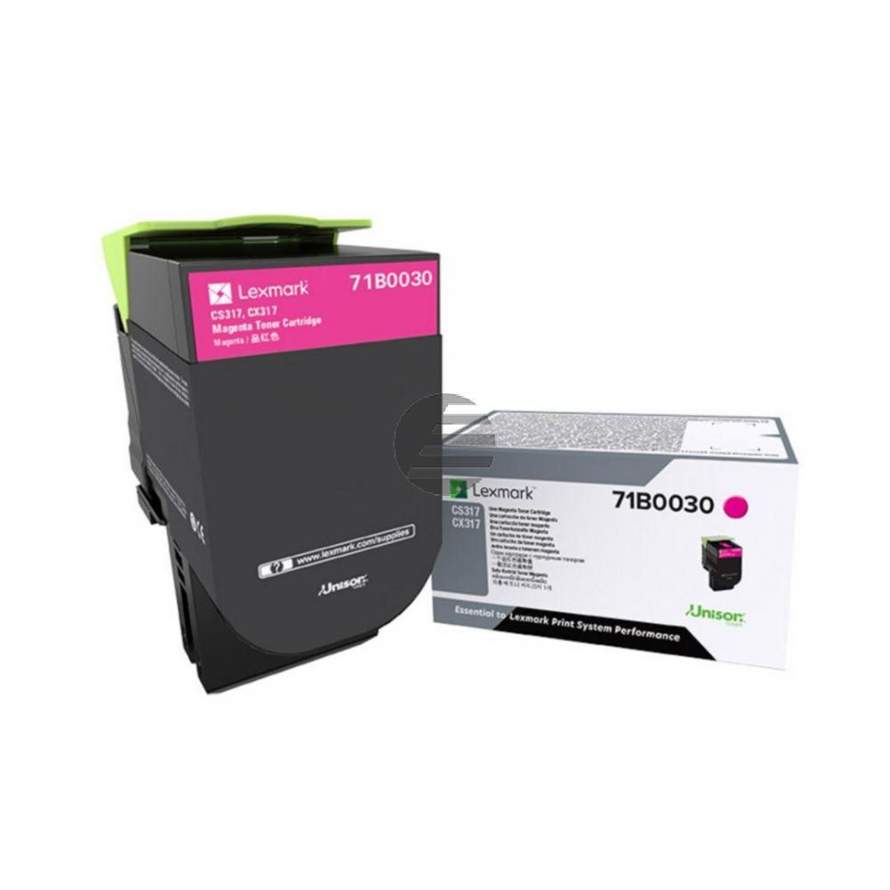 Lexmark Toner-Kit magenta (71B0030)