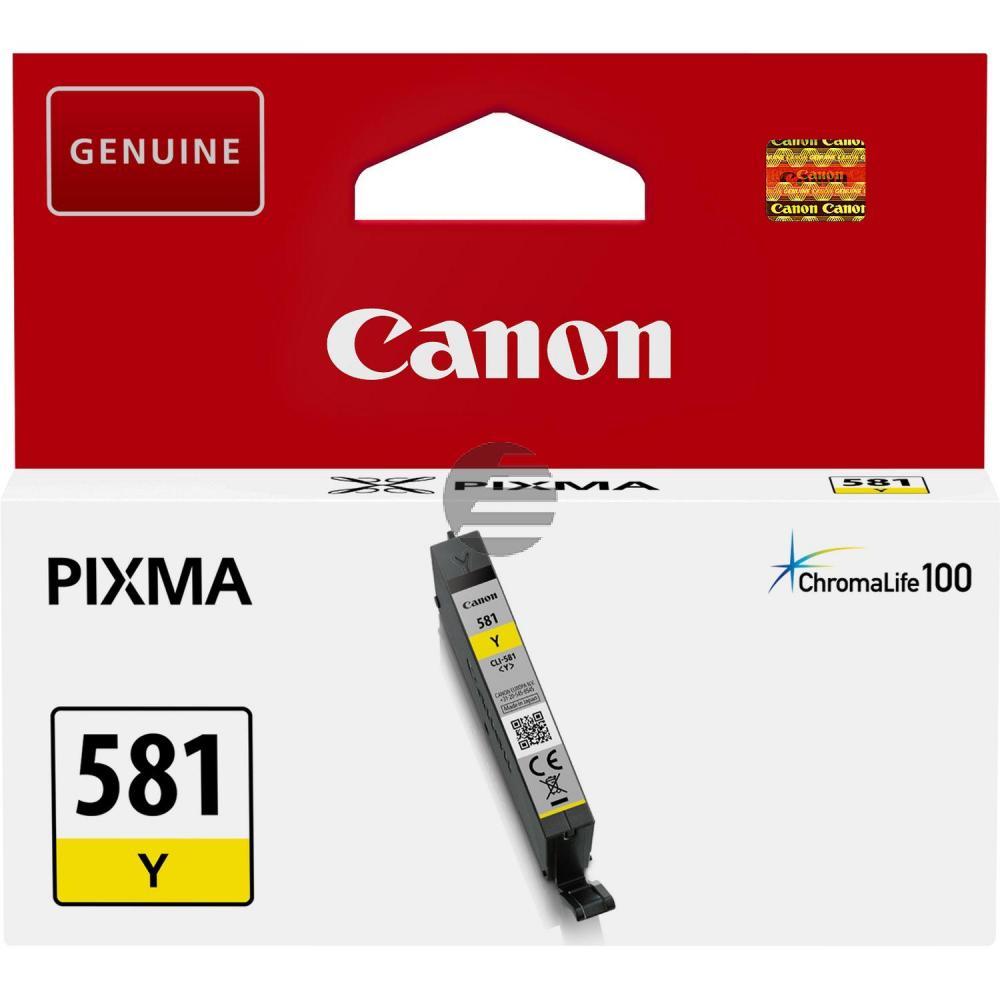 Canon Tintenpatrone gelb (2105C001, CLI-581Y)