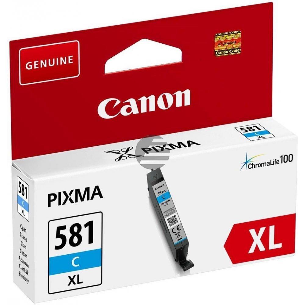 Canon Tintenpatrone cyan HC (2049C001, CLI-581CXL)