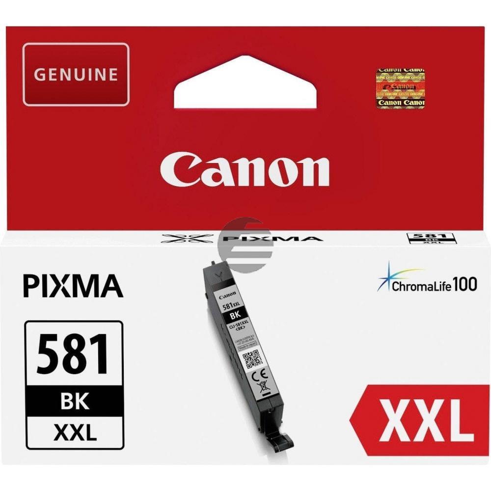 Canon Tintenpatrone schwarz HC plus (1998C001, CLI-581BKXXL)