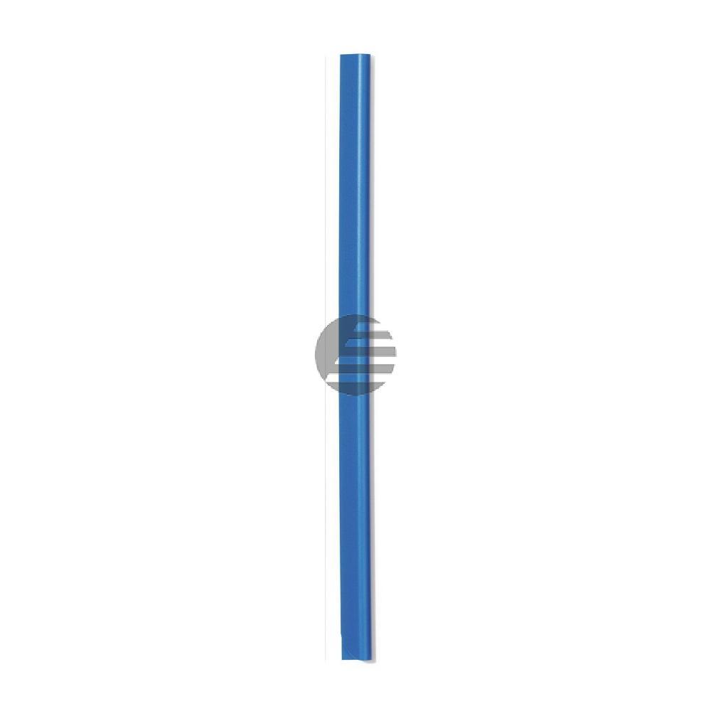 Durable Klemmschienen A4 3 mm hellblau Inh.100
