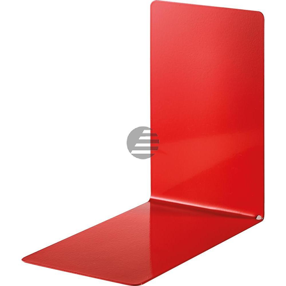 Alco Buchstützen rot Metall Inh.2 85 x 140 x 140 mm