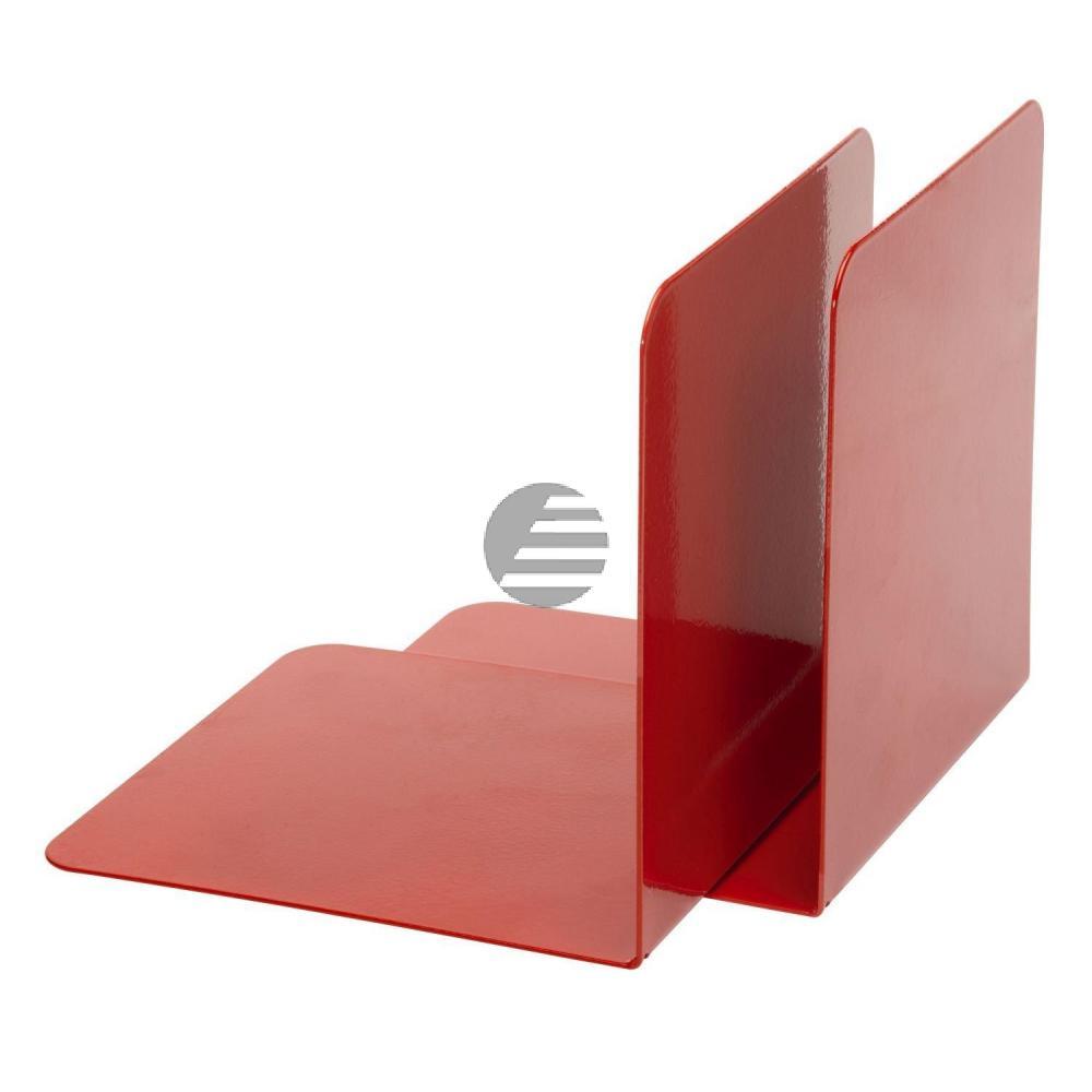 Alco Buchstützen rot Metall Inh.2 130 x 140 x 140 mm