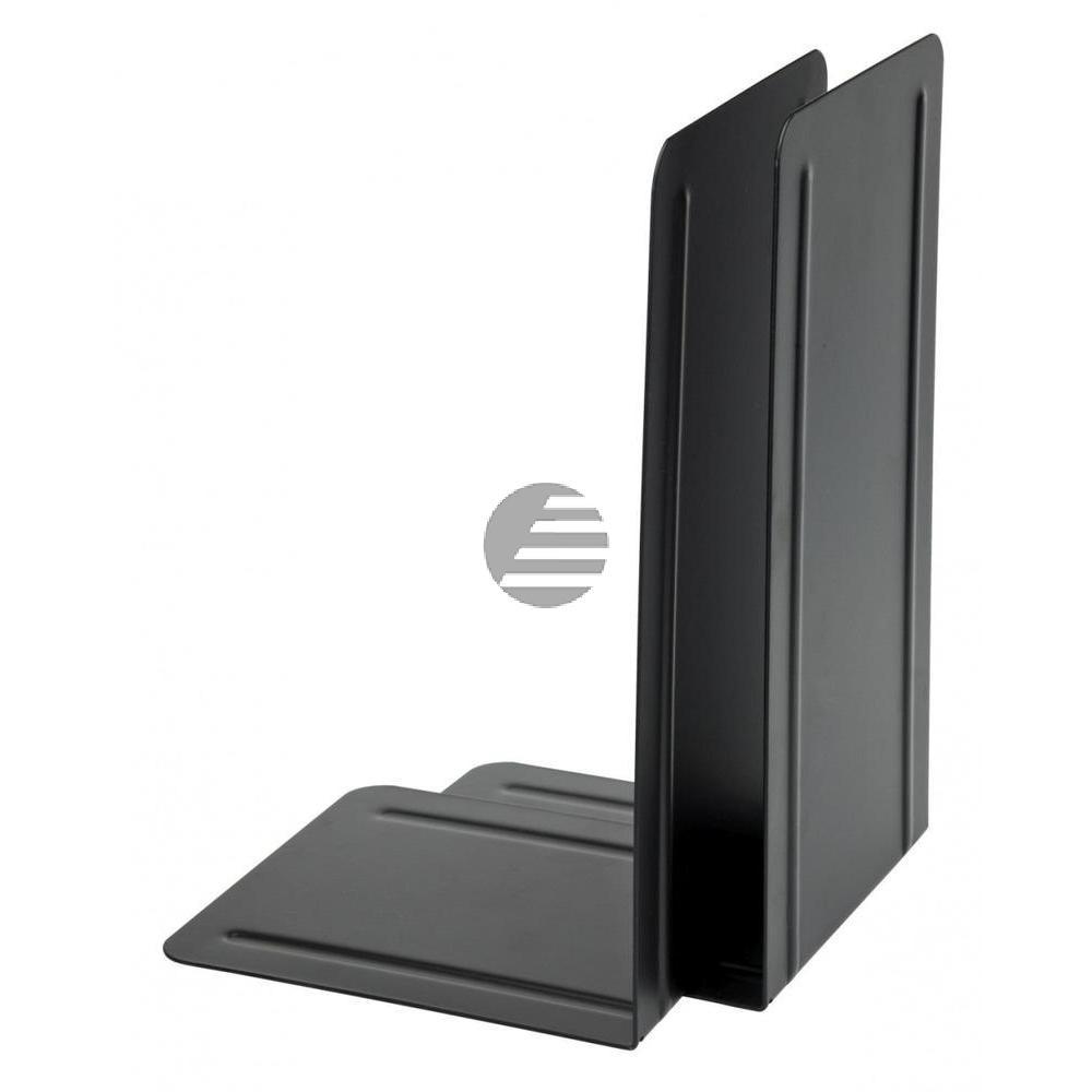 Alco Buchstützen schwarz Metall Inh.2 130 x 240 x 140 mm