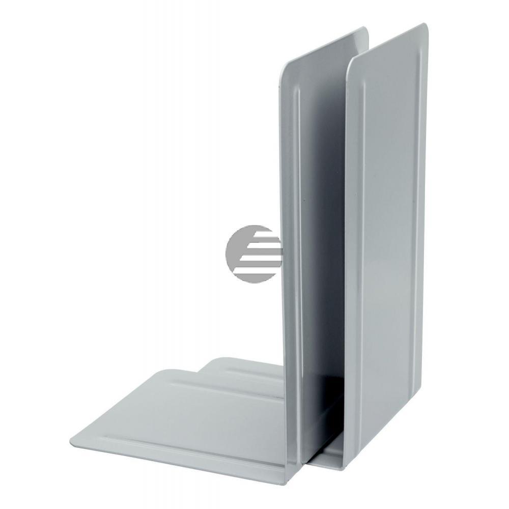 Alco Buchstützen grau Metall Inh.2 130 x 240 x 140 mm