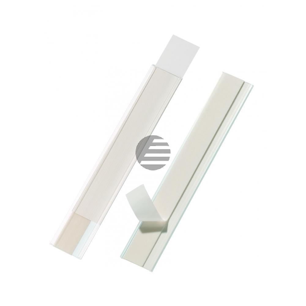 Durable Regalbeschriftung Scanfix farblos Inh.5 30 mm