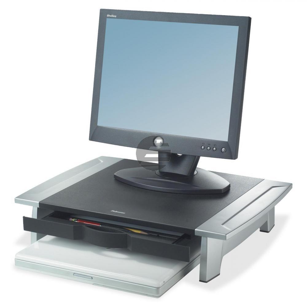 Fellowes Monitorständer Office Suite Kompakt schwarz/silber