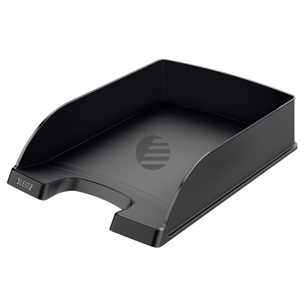 Leitz Briefkorb Plus A4 schwarz 255 x 360 x 70 mm