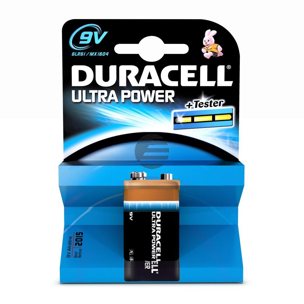 Duracell 9 V-Blockbatterie Ultra Power