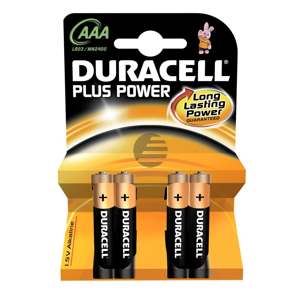 Duracell Batterie Plus Power Micro AAA 4er-Pack