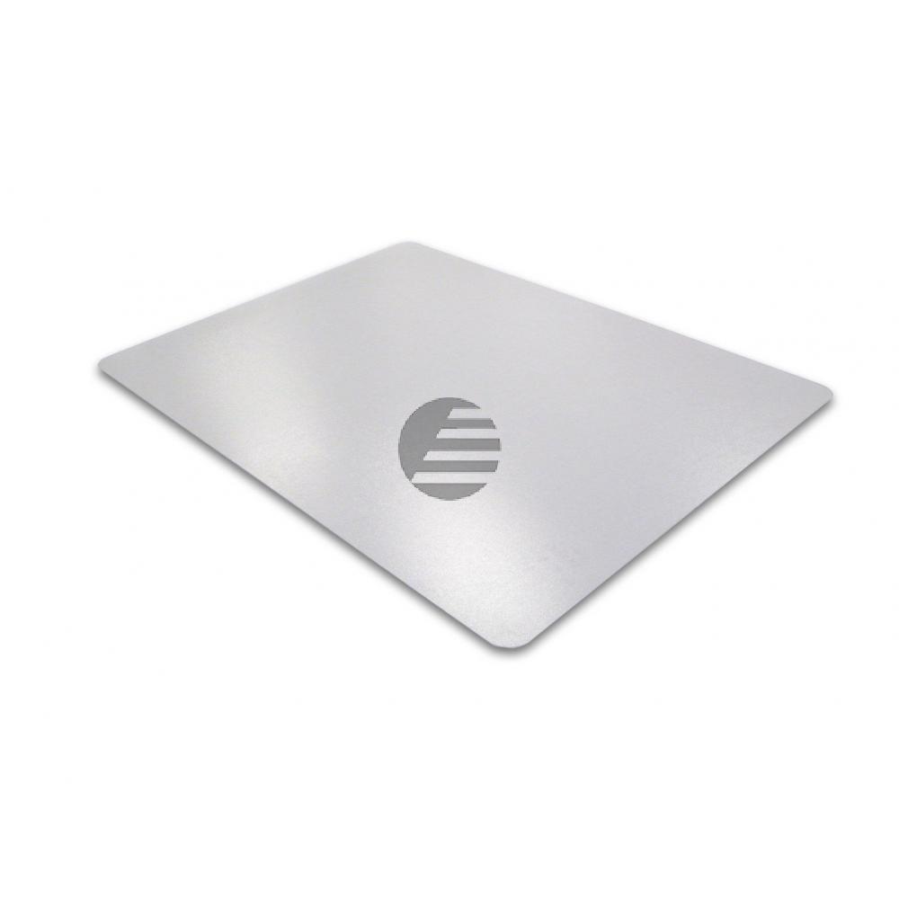 cleartex PVC Schutzmatte für harte Böden 99 x 120 cm transparent konturiert