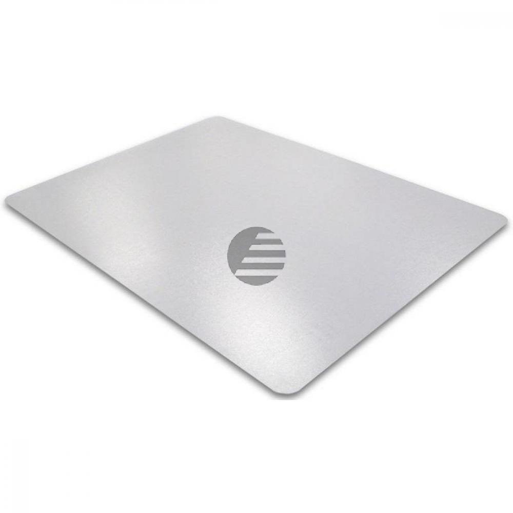 cleartex PVC Schutzmatte für Teppichböden 75 x 120 cm