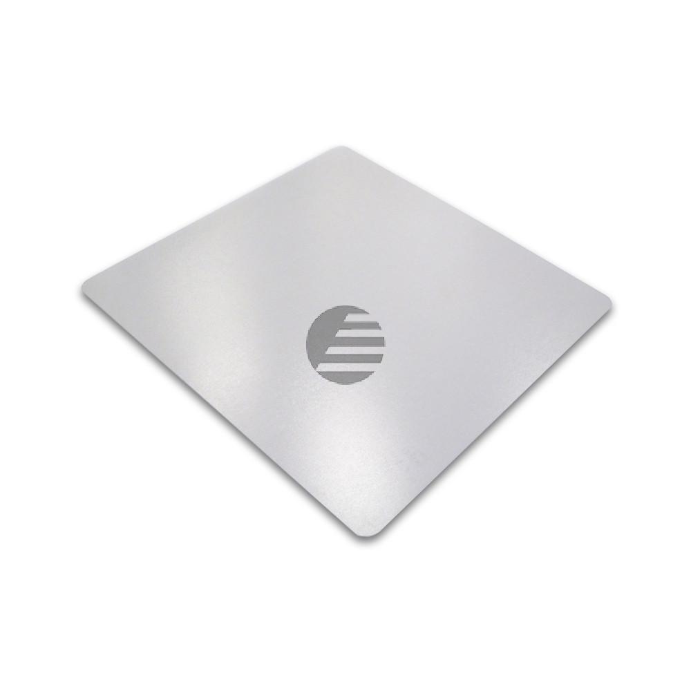 cleartex PVC Schutzmatte für harte Böden 120 x 130 cm transparent rechteckig