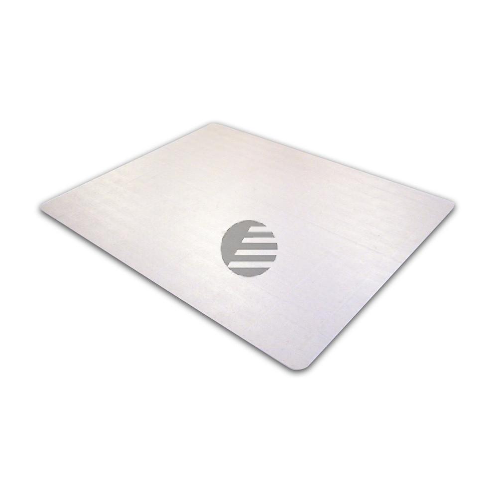cleartex PVC Schutzmatte für Teppichböden 120 x 130 cm rechteckig transparent