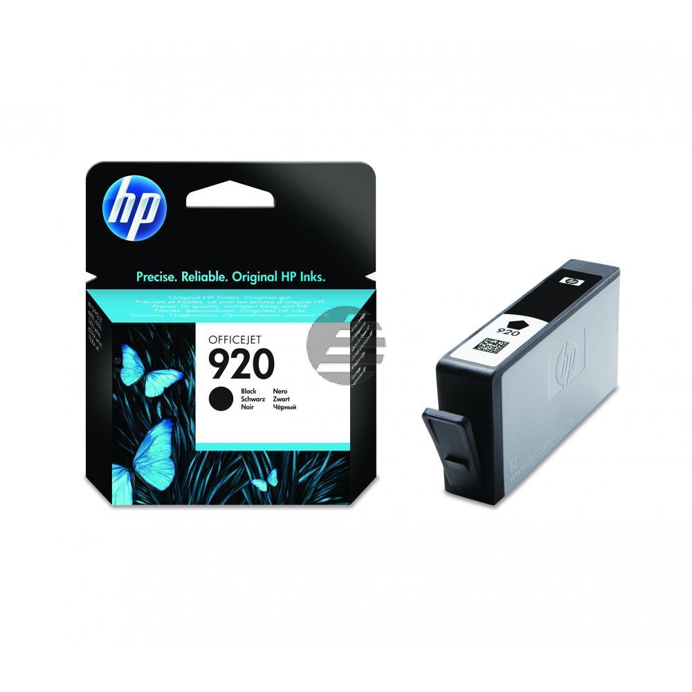 HP Tinte schwarz (CD971AE#BGY, 920)