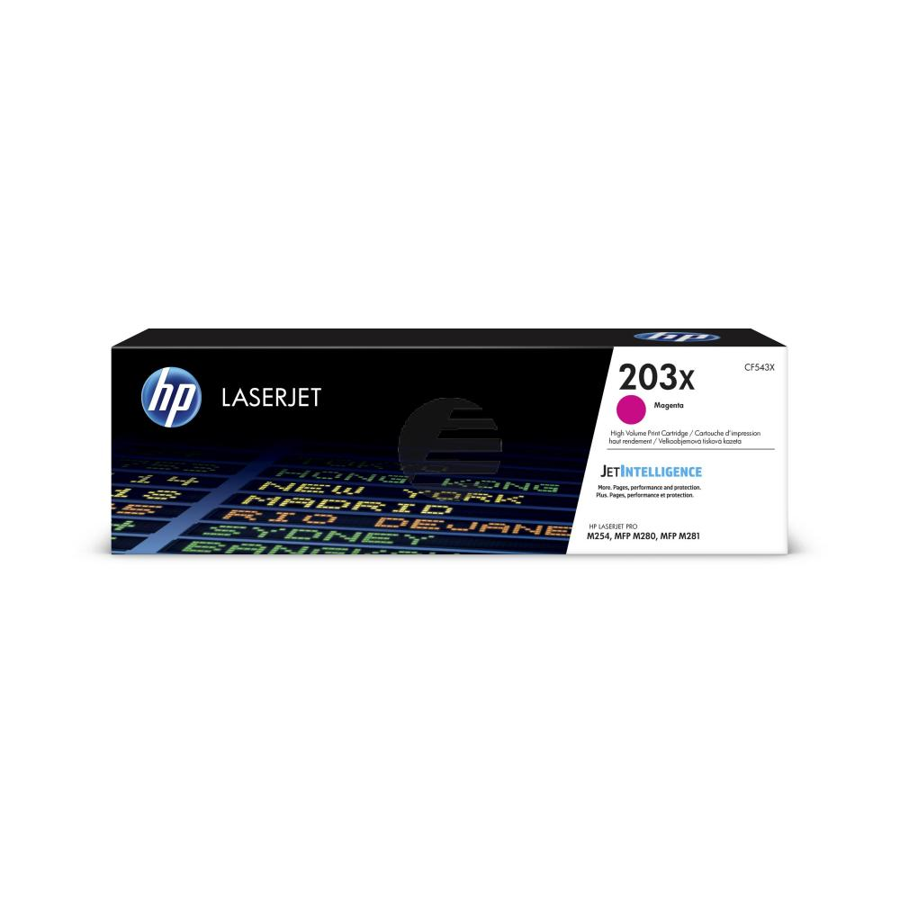 HP Toner-Kartusche magenta HC (CF543X, 203X)