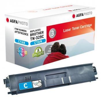 Agfaphoto Toner-Kartusche cyan (APTBTN329CE) ersetzt TN-329C