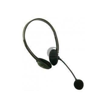 LogiLink Stereo Headset Kopfhörer mit Mikrofon Deluxe