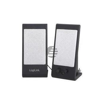 LogiLink Lautsprecher Active USB 2.0 black