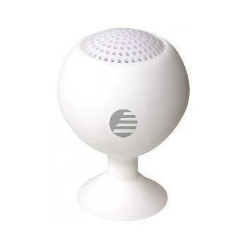 LogiLink Iceball Speaker, wiederaufladbar, weiß
