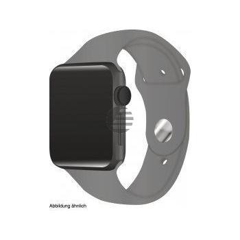 Apple Watch Series 3 42 mm Aluminiumgehäuse spacegrau, Sportarmband grau