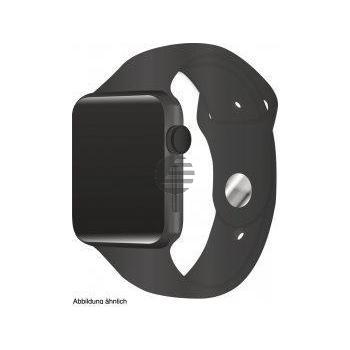 Apple Watch Series 3 38 mm Aluminiumgehäuse spacegrau, Sportarmband schwarz