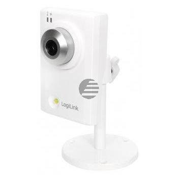 LogiLink Fast Ethernet IP HD-Kamera mit White LED