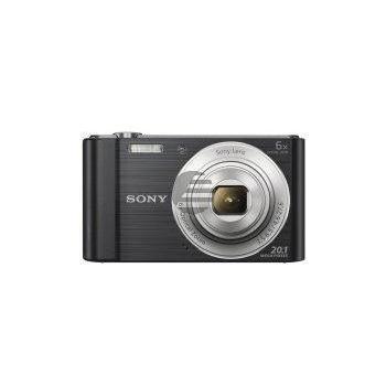 Sony DSC-W810B, Digitalkamera 20,1 MP, schwarz