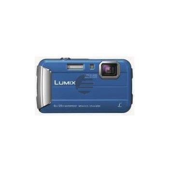 Panasonic Lumix DMC-FT30 Kompakte Outdoor-Kamera, blau