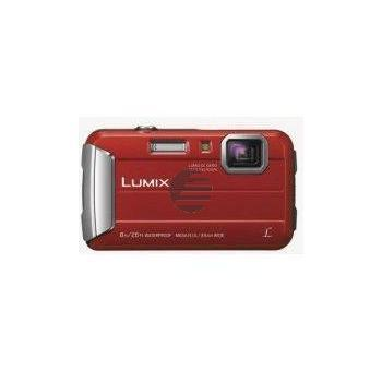 Panasonic Lumix DMC-FT30 Kompakte Outdoor-Kamera, rot
