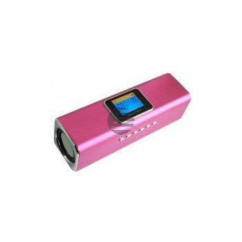 Technaxx MusicMan MA Display Soundstation pink