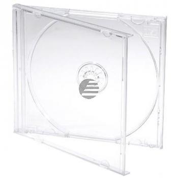 MEDIARANGE CD JEWEL CASE (100) KLAR BOX24 10,4mm