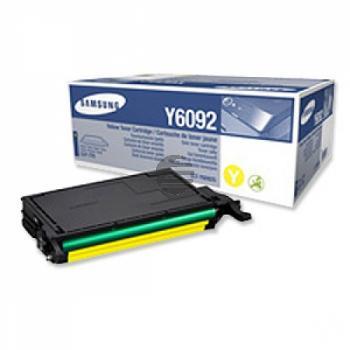 Samsung Toner-Kartusche gelb (CLT-Y6092S/ELS, Y6092)