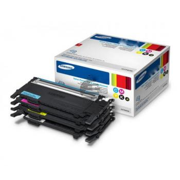 HP Toner-Kit gelb cyan magenta schwarz (SU375A, P406C)