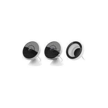 Logitech Circle 2 Combo Pack, 2 wired Kameras + Fensterhalterung