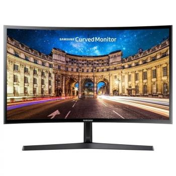 Samsung Monitor 24 TFT 3000:1 Curved 4ms flicker-free  (LC24F396FHUXEN)